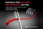 Amplificatore operazionale zero-drift e zero-crossover