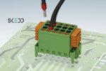 Connessioni per circuiti stampati