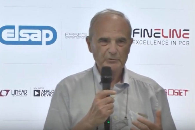 Bruno Murari, il padre dell'accelerometro, festeggia con Selezione di Elettronica