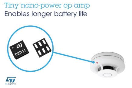 Il più preciso op-amp nano-power