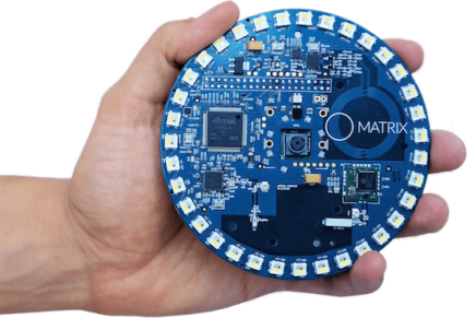 Matrix Creator, un add-on Raspberry Pi per lo sviluppo IoT