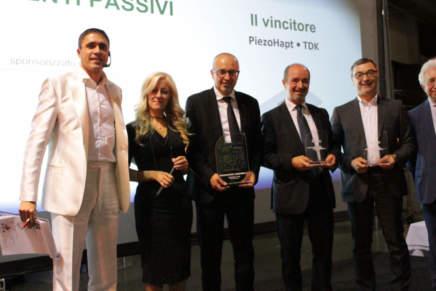 Guarda le foto della premiazione della categoria Componenti Passivi