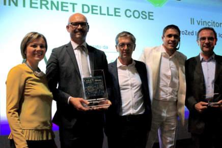 Guarda le foto della premiazione della categoria IoT