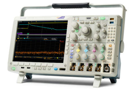 Misure di alimentazione con l'oscilloscopio a segnali misti
