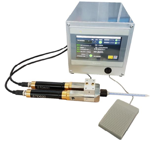 ISCRA dosaggio dei fluidi bicomponente