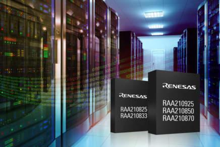 Renesas presenta la nuova famiglia di moduli digitali incapsulati