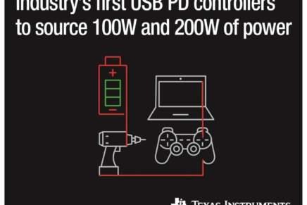 TI, nuovi controller USB Type-C e USB PD per applicazioni con ingresso singolo e doppio