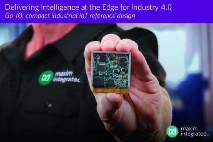 Il Go-IO di Maxim guida l'intelligenza verso il Digital Factory Edge