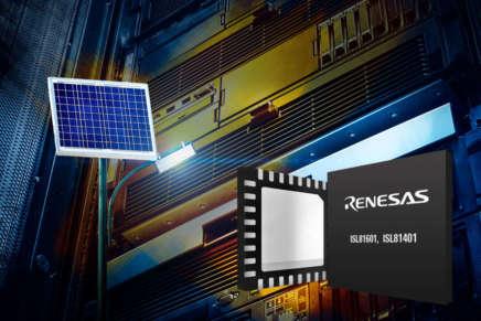 Renesas introduce i nuovi controllori bidirezionali Buck-Boost sincroni
