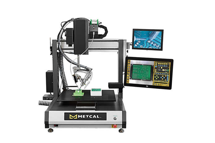 Metcal Robotic System to Soldering Processes