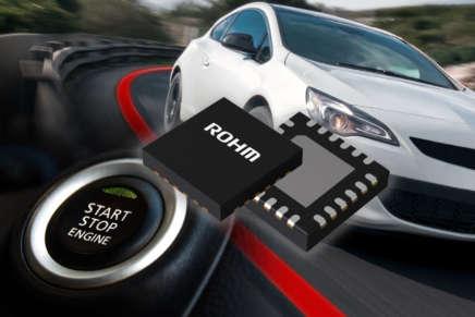 Da Rohm un chipset per alimentatori con configurazione buck-boost per l'automotive