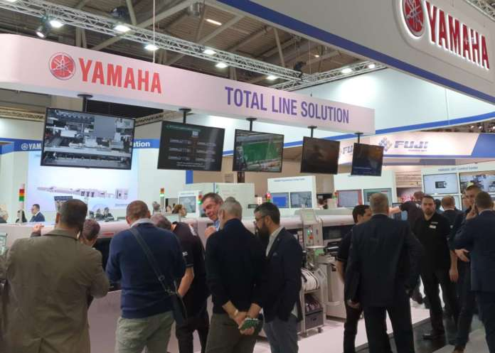 Yamaha Booth @ productronica 2019