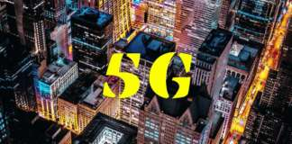 5G City Downtown