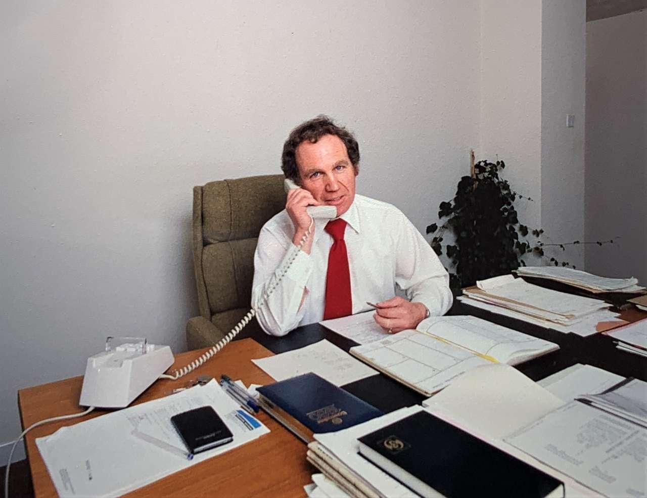 Pat Kellard fondatore di Blakell Europlacer
