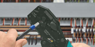 Crimping tool by Phoenix Contact