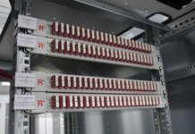 Il Data center di envia tel cablato da Rosenberger OSI