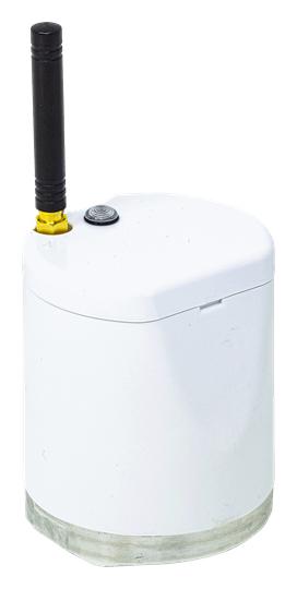 Figura 6. Piattaforma di valutazione wireless per il monitoraggio della vibrazione.