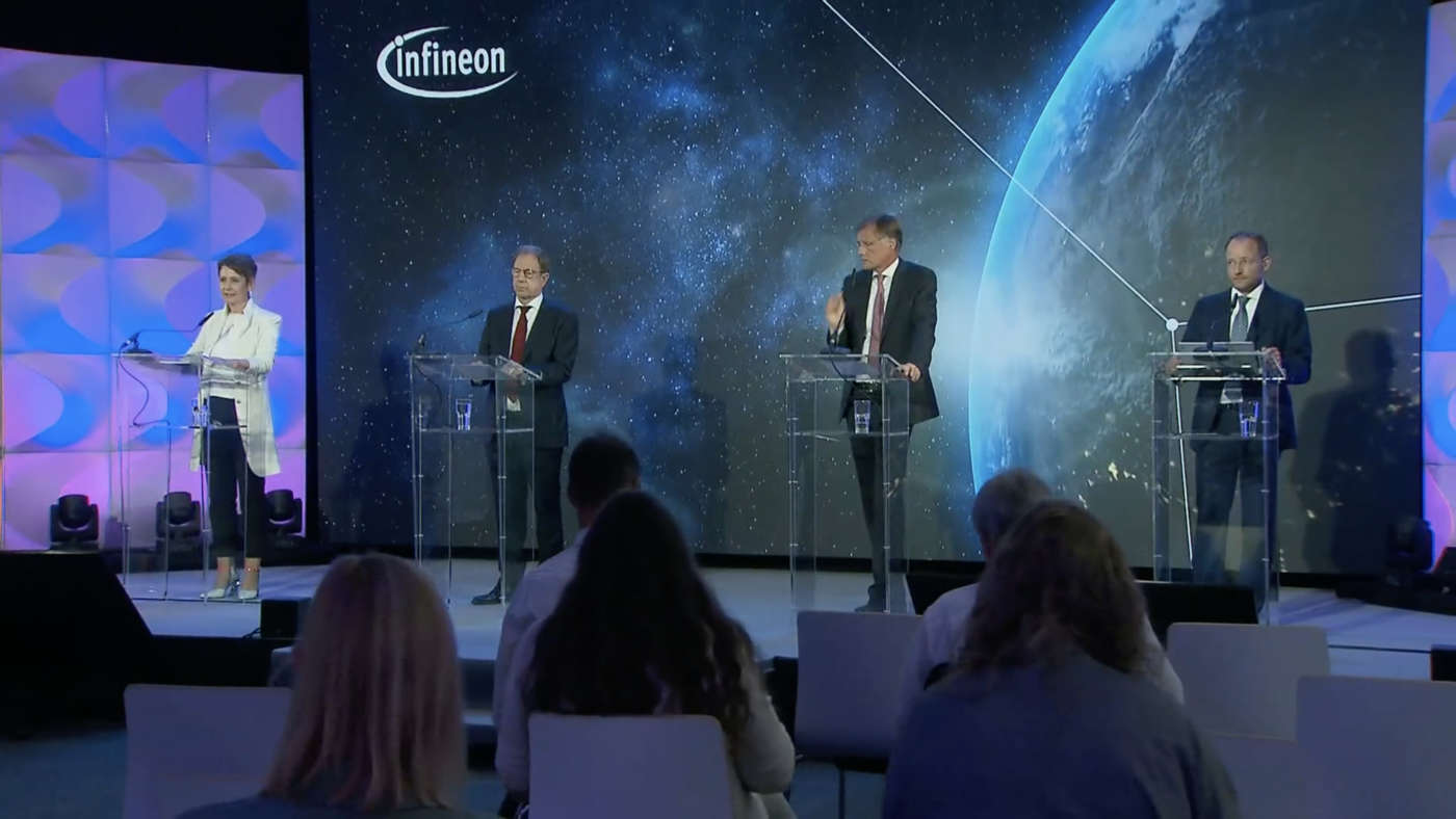 La conferenza stampa di Infineon del 17 settembre 2021
